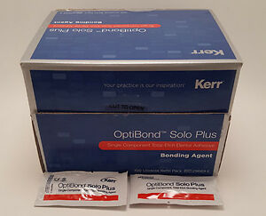 Optibond Solo Unidose 100 Pack Kerr Dental New Fresh
