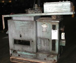 Lord Model 1624 5 Cu Ft Batch Type Vibratory Finisher