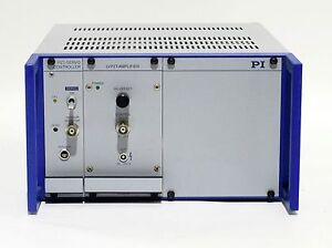 Physik Instrumente E 501 00 9 1 2 Chassis With Pzt Servo E 509 x1 And Lvpzt Amp