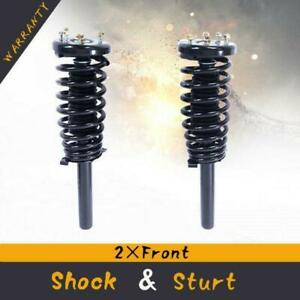 For 98 02 Honda Accord Front Quick Complete Struts Coil Springs W Mounts Pair