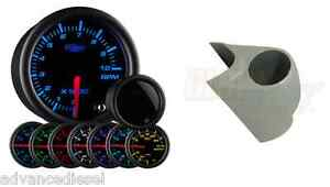 03 07 Ford Super Duty Glowshift Tinted 7 Color 2 Tachometer Gauge