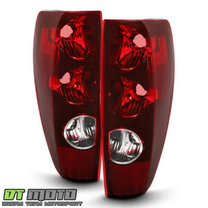 2004 2012 Chevy Colorado Gmc Canyon Tail Lights Lamps Replacement Set Left Right