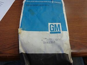 1971 1976 Gm Convertible Top Part 9607019 Full Size Cadillac