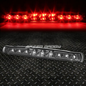 For 97 04 Chevy Corvette Led Third 3rd Tail Brake Light Stop Parking Lamp Smoked