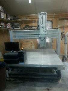 Cnc Router Used Velox Cnc 24 Z Axis 60 X 50 Travel Large Foam Cutting