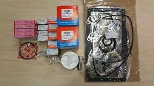 New Kubota B3200 B3300 With V1505 Engine Overhaul Kit Std