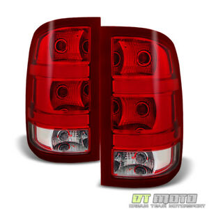 plug Play 2007 2013 Gmc Sierra 1500 2500 3500hd Tail Lights Lamps Left right