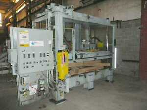 Used Hudson 4 post Die Cutting Press