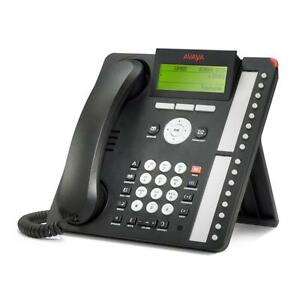 New Avaya 1616 Ip Phone black