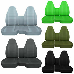 Cc 91 015 Ford Ranger Car Seat Covers Front Center Console Cover Solid Colors