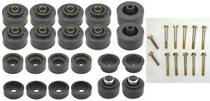 1978 1988 G body Reproduction Rubber Body Mount Bushings Kit With Bolts