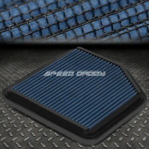 For 06 13 Lexus Is250 Is350 Blue Reusable Washable High Flow Panel Air Filter
