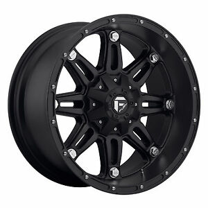 Cpp Fuel D531 Hostage Wheels 17x8 5 Fits Chevy Gmc Silverado 2500 2500hd Duramax