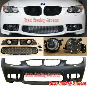 M3 Style Front Bumper Glass Projector Fog Fit 07 10 Bmw E92 E93 2dr 3 Series