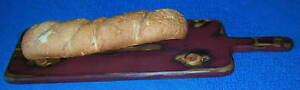 Primitive Wood French Bread Breadboard Any Color