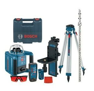 Bosch Grl 300hvck Self leveling Rotary Laser W Layout Beam Complete Brand New