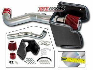 3 5 Red Heat Shield Cold Air Intake Filter For 05 15 Frontier xterra 4 0l V6
