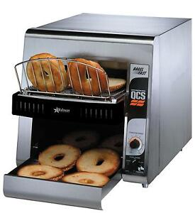 Star Qcs2 1200b 10 w Belt Holman Conveyor Bagel Toaster 1200 Slices hr