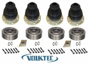set X 4 Cv Joint Vw Volkswagen Van Bus Transporter 1968 1979 Vanagon 1980 1991
