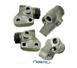 set X4 Front Left Right Brake Wheel Cylinder 1964 70 Vw Volkswagen Bus Van