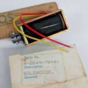 4 2649 70401 Solenoid 704010 Model Push Pull Relay Switch Nos New