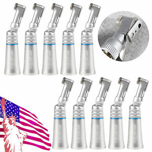 10x Dental Slow low Speed Contra Angle Handpiece Latch Fit Nsk E type Micromotor