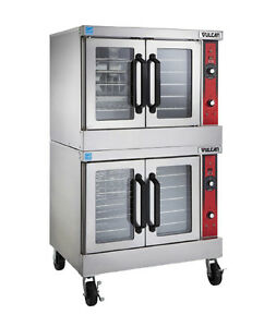 Vulcan Vc55ed 480 Vc5 Series Double Stack Electric Convection Oven 480v