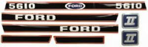 New Ford 5610 Decal Set