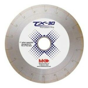 Wet Cutting Continuous Rim Tx 30 Diamond Blade