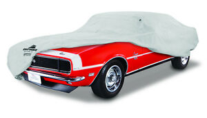 1967 1968 Chevrolet Camaro Custom Fit Grey Soft Cotton Plushweave Car Cover New