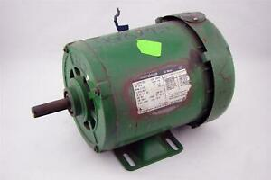 Westinghouse Ac Motor Ph3 3 4hp 230 460v 1725rpm 327p102