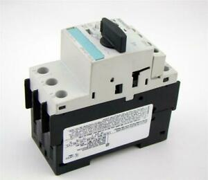 Siemens Circuit Breaker 3 Pole 600v 3rv1421 1ga10