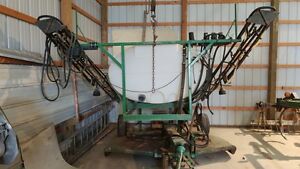 07 08 Ag Chem Slide In Truck Sprayer 500 Gal 45 Manual Fold Booms