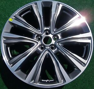 New 2016 2017 Genuine Oem Factory Lincoln Mkx Mk X 20 Inch Wheel 10074 Fa1z1007g