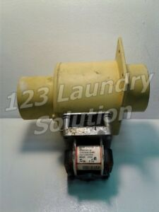 Washer Drain Valve 220 240v 50 60hz Continental Girbau P n 163212 Used