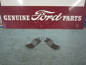 1956 Ford Grill Lower Mounting Brackets 2 Left Right