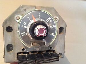 1955 Ford Radio Original Used Part 5mf And 15d531446 Fomoco Push Button Coupe