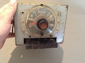 1955 Ford Fairlane Am Radio Original Used Vintage Push Button Fomoco