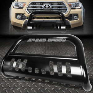 For 16 17 Toyota Tacoma Pickup Truck Black 3 Bull Bar Push Bumper Grill Guard