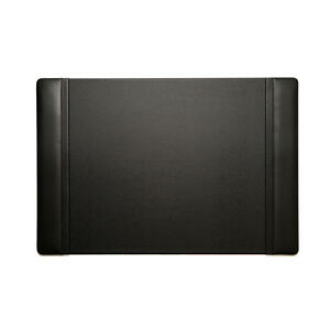 Bey Berk Desk Pad In Black Leather