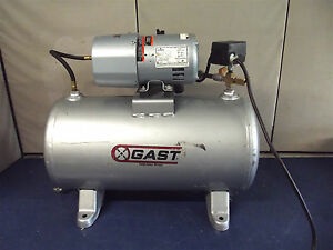 Gast Model 3heb 11t m345x Air Compressor 1 3hp 1725 Rpm 115v works s2815