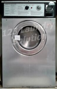 Wascomat Front Load Washer Double Load W74 120v Stainless Steel