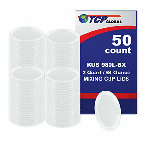Lid For 2 quart Paint Mixing Cups Plastic 100 pack