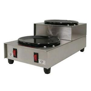 Gmcw Bw 2su Dual Step up Burner Countertop Coffee Warmer Plate