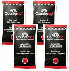 4 Bags 8 Ounce Counteract Tire Balancing Beads 8 Oz