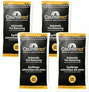 4 Bags 14 Ounce Counteract Tire Balancing Beads 14 Oz