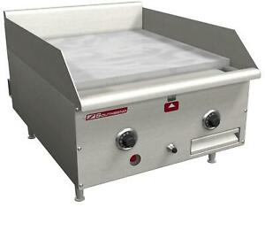 Southbend Hdg 24 m 24in Manual Countertop Gas Griddle With 1in Plate