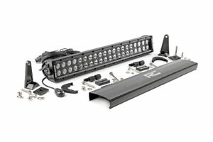 Rough Country 20 Dual Row Led Light Bar Cree 9600 Lumens Combo Beam bs