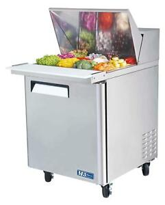 Turbo Air 28 Mega Top Sandwich Salad Prep Cooler 12 Pans Mst 28 12