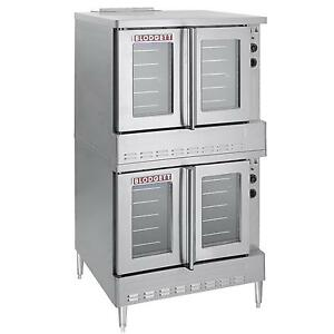 Blodgett Sho 100 e Dbl Standard Full Size Double Deck Electric Convection Oven